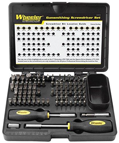 Best Selling Top Rated Gunsmith Repair Kit Screwdriver Set- S2 Tool Steel (Best Way Torx Bits)