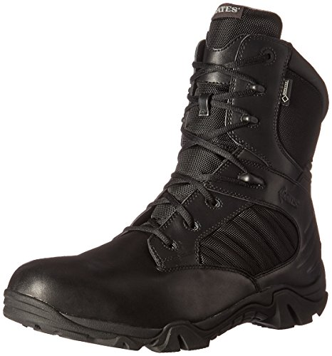 Bates Men's GX-8 Gore-TEX Side Zip Military and Tactical Boot, Black, 15 2E US