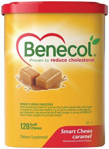 BENECOL Smart Chews, Caramel, 120-Count Soft Chews