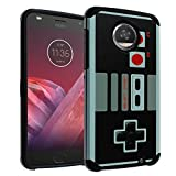 Moto G5 Plus Case NES Game Controller, DURARMOR Dual Layer Hybrid ShockProof Ultra Slim Fit Armor Air Cushion Defender Protector Cover for Moto G5 Plus – NES For Sale