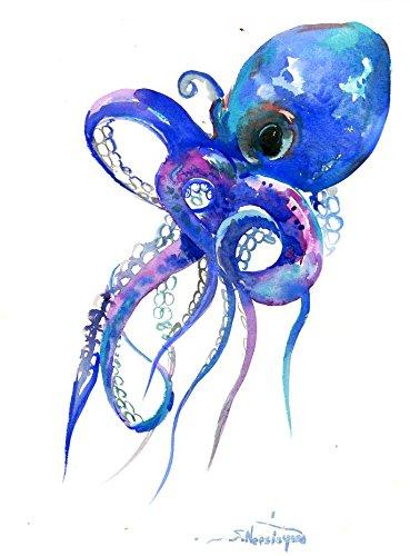 Octopus Art Print of Original Artwork