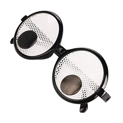 amazon com leegoal googly eyes glasses plastic round funny googly