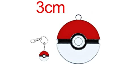 Pokemon Pokeball llavero de metal soporte con Clip: Amazon ...