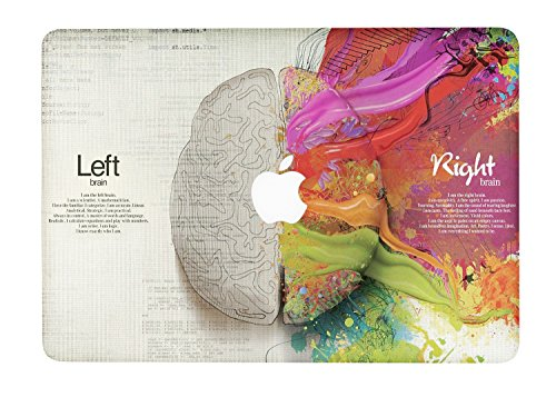 HERNGEE Left and Right Brain Decal Vinyl Skin Sticker