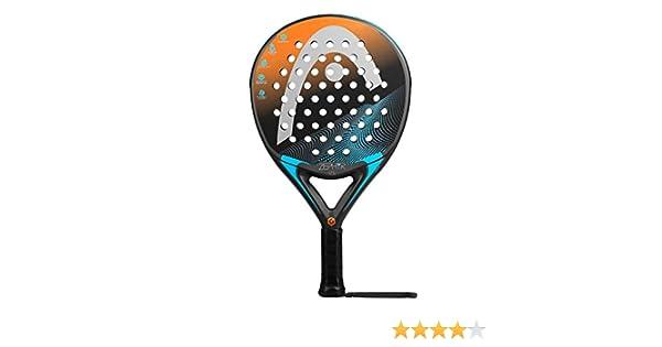Head Graphene Touch Zephyr Ultra Light Pala de pádel de Tenis, Hombre, Azul/Naranja, 0.34