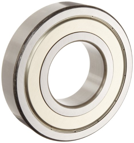 NSK 6203ZZC3 Deep Groove Ball Bearing, Single Row, Double Shielded, Pressed Steel (Usa Metric Bushings)