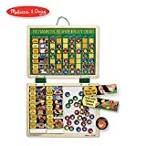 Melissa & Doug Magnetic Responsibility and Chore Chart (Developmental Toys, Encourages Good Behavior, 90 Pieces, 15.75' H x 11.75' W x 0.5' L)