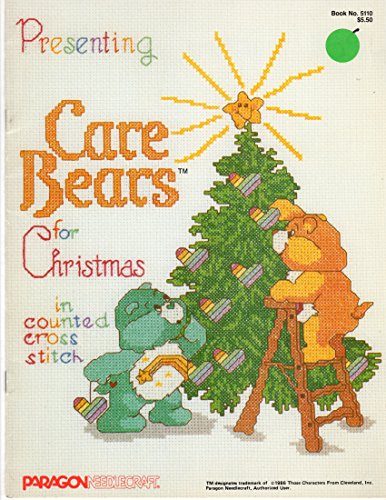 (Presenting Care Bears for Christmas in Counted Cross Stitch )