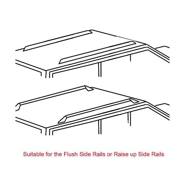 85 x 11.5 x 8 cm 2 pcs//Set Black RORAIMA Universal Folding Lightweight Anti-vibration Roof Rack Pad for Kayak//Canoe//Surfboard//Paddle Board//SUP//Snow Board and Water Sports Accessories 36X 4.5X 3.1