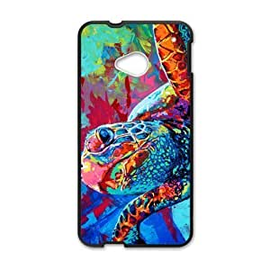 Canting_Good Sea Turtle Custom Case Shell Skin for HTC One M7(Laser Technology)