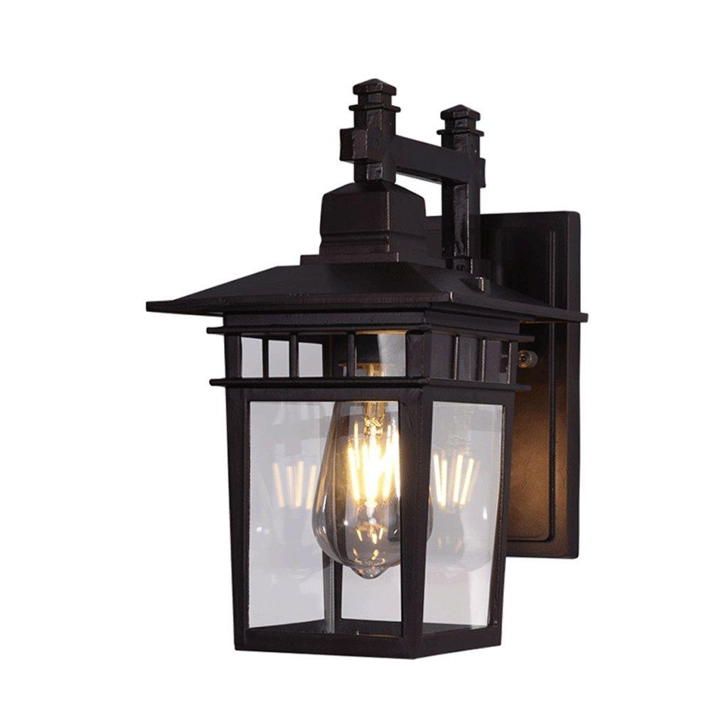 è scontato DGF Lampada da da da parete a LED in vetro Coffee Shop Lampada da parete esterna per esterni a villa impermeabile  liquidazione