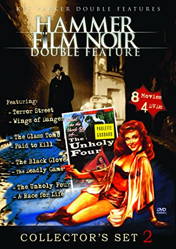 (Hammer Film Noir Collector's Set, Vol. 2 (Terror Street / Wings of Danger / The Glass Tomb / Paid to Kill / The Black Glove / The Deadly Game / The Unholy Four / A Race for Life) )
