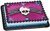 Monster High Skullette & Hearts Decoset ~ Designer Cake/Cupcake Topper ~ NEW!!!!!