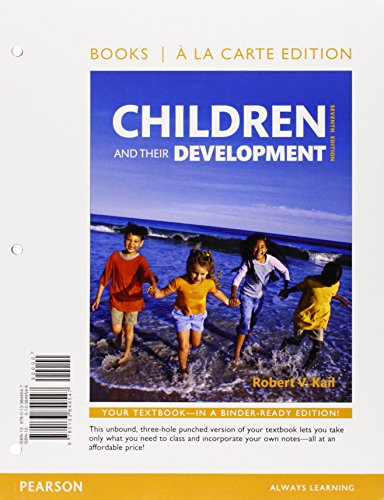 Children and their Development, Books a la Carte Plus NEW MyLab Psychology  --Access Card Package (7th Edition)