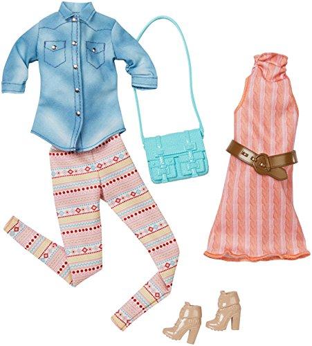 Barbie Fashion 2 Pack Casual - Pastels (Mattel Barbie Clothes)