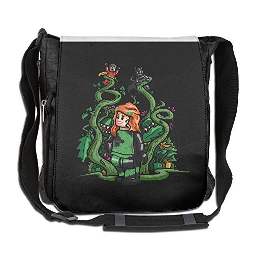 BakeOnion Poison Ivy Girl Messenger Bag Traveling Briefcase - Poison Ivy Messenger Bag