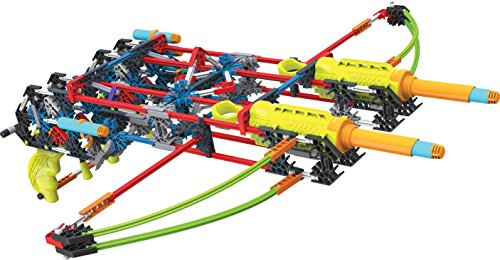 K'NEX K-FORCE Build and Blast - Dual Cross Building Set - 368 Pieces - Ages 8+ - Engineering Education Toy ()