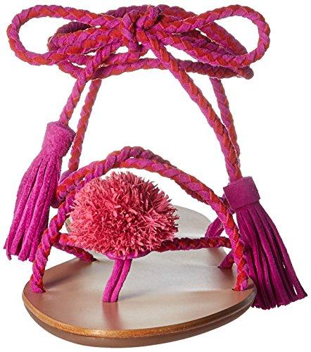 Loeffler Sandal Randall Women's Azalea Flat Flame Bo pxprfUq