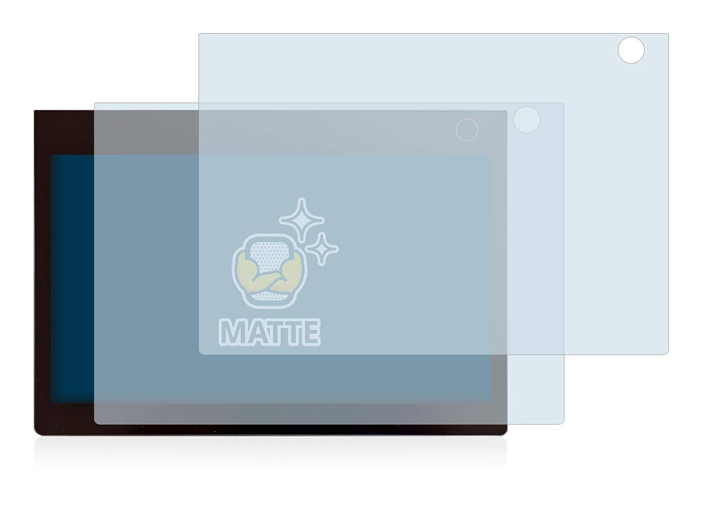 Matt - Anti-Reflex BROTECT Entspiegelungs-Schutzfolie kompatibel mit Lenovo Yoga Book C930 Bedienfeld 2 St/ück
