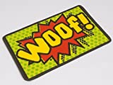 Pet Rebellion Woof - Dog Dinner Mat - 40 x 60cm