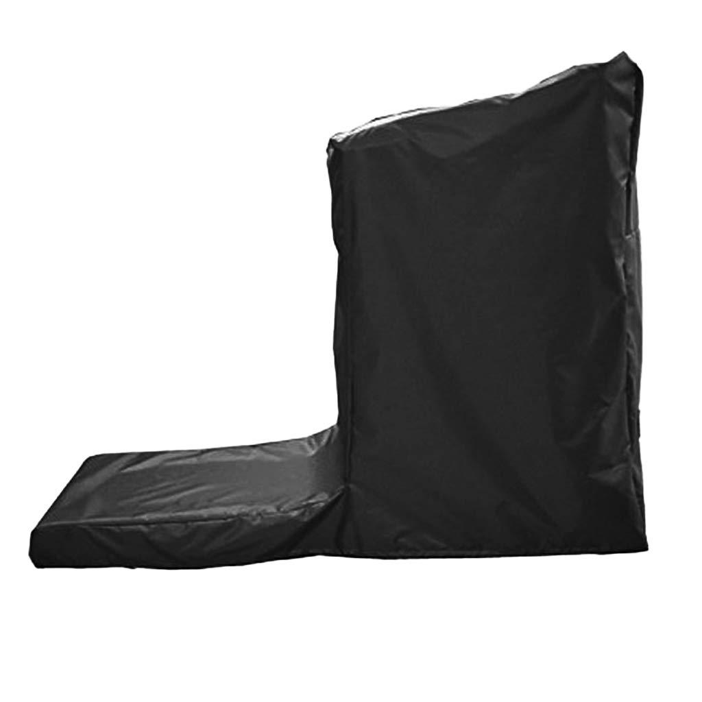 SM SunniMix Indoor Outdoor Treadmill Cover Jogging Machine Waterproof Cover Dustproof Protectors 165x76x140cm /185x91x155-185x91x155cm by SM SunniMix (Image #4)