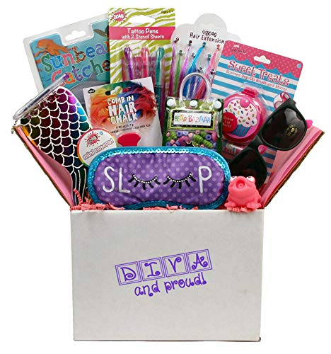Beyond Bookmarks Diva & Proud - Summer Camp Care Package or Birthday Gift for Girls