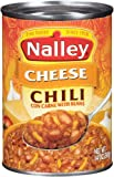Nalley Cheddar Cheese Chili Con Carne With Beans (Pack of 4)
