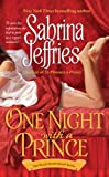 One Night with a Prince by Sabrina Jeffries front cover
