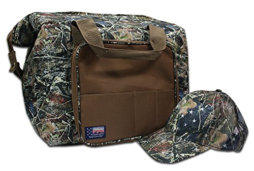Rockpoint Freedom Camouflage Cooler Bag with FREE Cap by Rock Point
