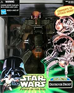 Amazon.com: Star Wars Power Of The Jedi MEGA ACTION ...