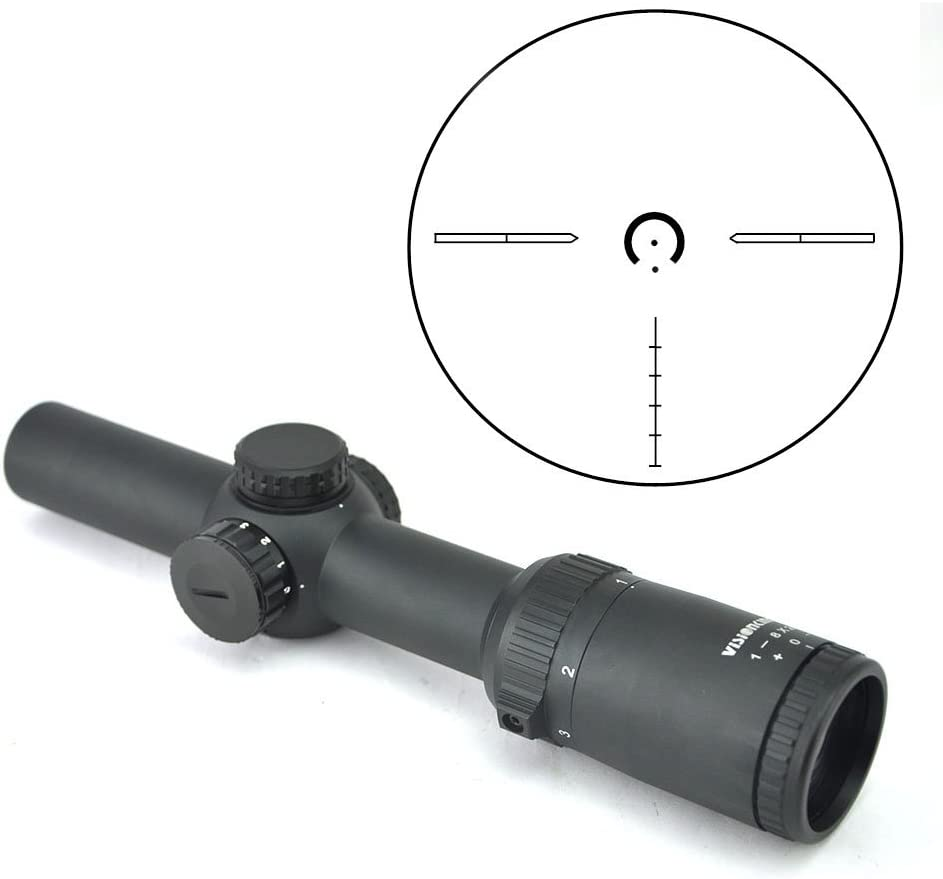 7. Visionking Optics 1-8x24 Long Eye Relief Scope