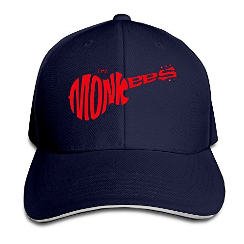 [The Monkees Guitar Hat Unisex-Adult Hiphop Snapback Cap] (80s Male Fashion)