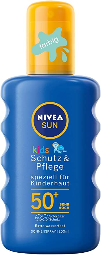 Nivea sun - Kids, spray solar, lsf 50+, (200 ml): Amazon.es: Belleza