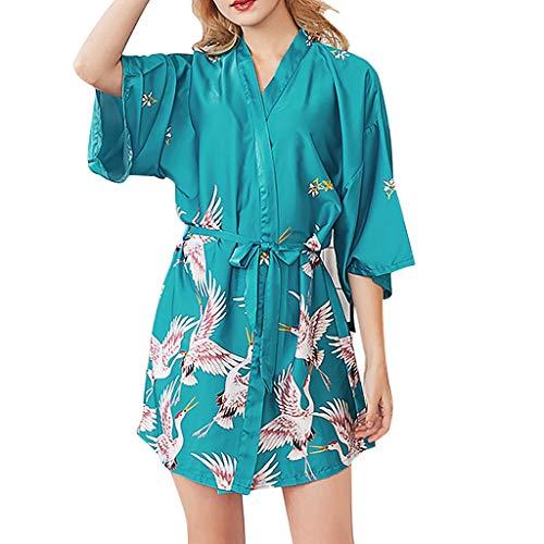 YKARITIANNA 2019 New Soft Hot Women Simulation Silk Ladies Pajamas Lingerie Robe Bathrobe Bride Dressing Gown
