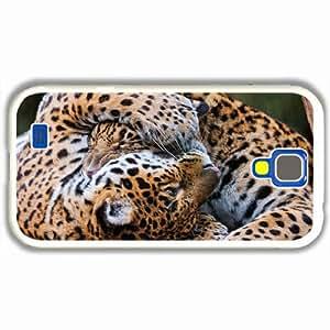 Customized Samsung Galaxy S4 S iv 9500 Hard Shell Cover Case Diy Personalized DesignJaguars Predators White