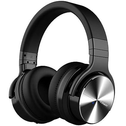 DYY Auriculares Activos con cancelación de Ruido Subwoofer Sports/Games Auriculares estéreo inalámbricos con Bluetooth