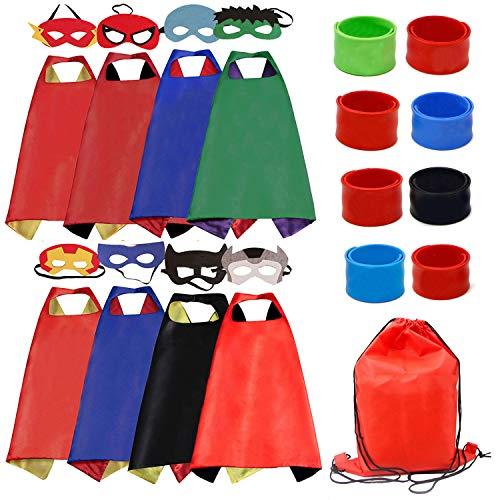 Kids Dress Up Costumes Cartoon Satin 8pcs Characters