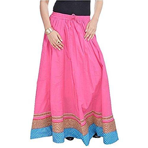 Pink Women Pink Bottom Skirt Beautiful in SMSKT501 TwXBpgq