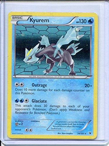 Kyurem Holo Rare Pokemon #34 Photo - Pokemon Gaming