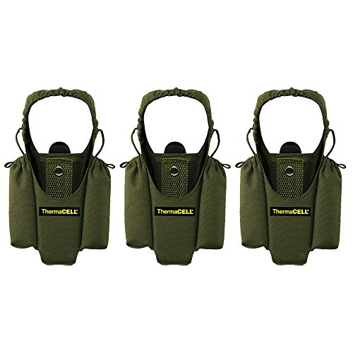 - Thermacell Mosquito Repellent Appliance Holster, Olive, 3-Pack