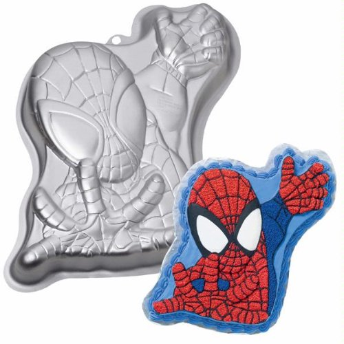 Wilton Spiderman Spider Man Cake Pan (2105-5052, 2004) Marvel Comics