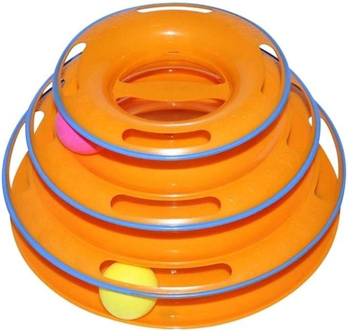Juguetes para mascotas 3 capas Disco de bola loca Juguetes para ...