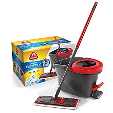 O-Cedar EasyWring UltraMax Flat Spin Mop & Bucket System