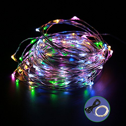 Emarth LED Starry String Lights, Fairy Extra Thin Copper Wire Lights, Décor...