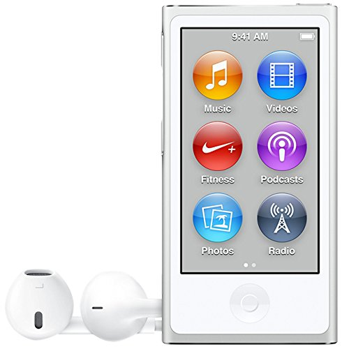 Apple iPod Nano, 16GB, Silver (7th Generation)