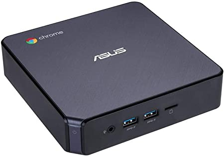 ASUS Chromebox 3 CHROMEBOX3-N007U - Mini PC (Intel Celeron 3865U, 4GB RAM, 32GB SSD, Chrome OS), Negro