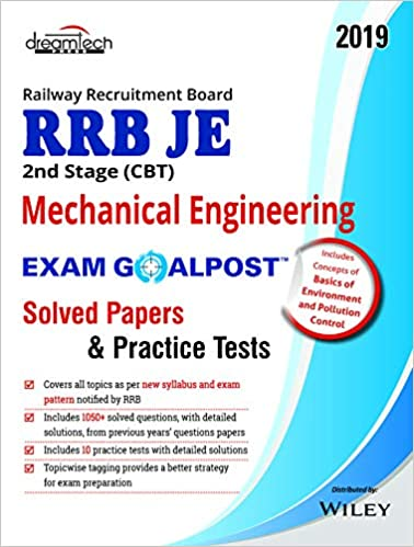 Buy RRB JE 2nd Stage (CBT) Mechanical Engineering Exam Goalpost