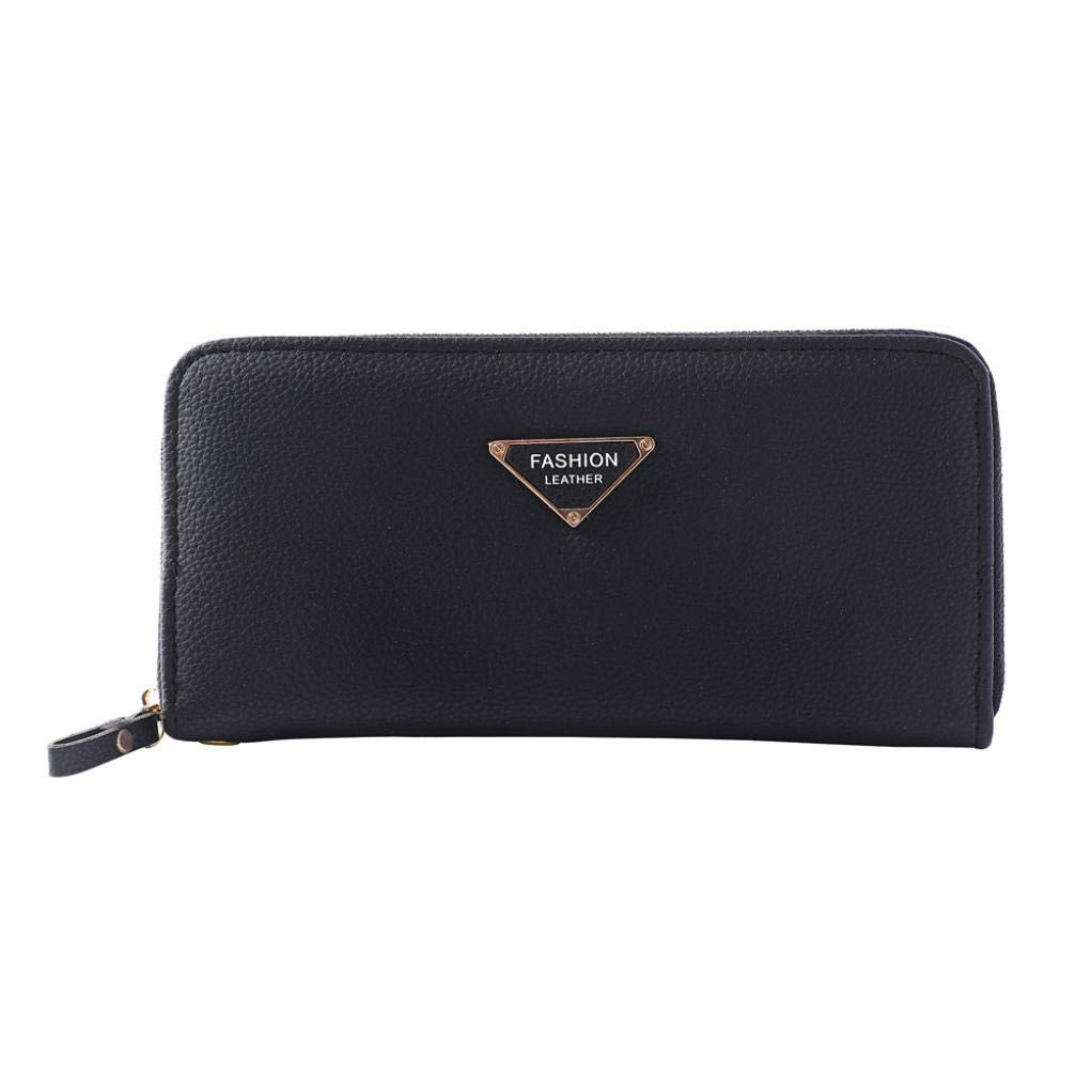 kingfansion Wallet Small Fashion Women'S Letters Long Wallet Purse Card Bag Handbag Mobile Phone Bag