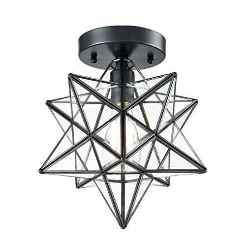Star Shaped Light Pendant in US - 3