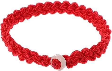 seluluory Red String Faith Good Luck Pulsera Trenzada